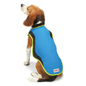 Kong Cool Pup Coat Cooling Jacket Vest w/ ice pack for hot weather pet summer