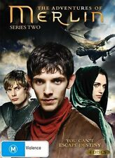The Adventures Of Merlin : Series 2 (DVD 2011 4-Disc Set) New ExRetail Stock D82