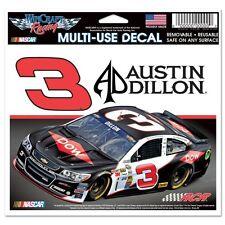"New NASCAR 3 Austin Dillon DOW Ultra Decal 4-1/2"" BY 6"""