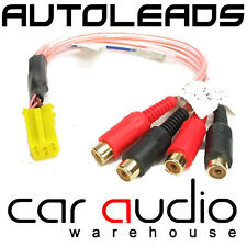 VW T4 Transporter Car Stereo Radio Yellow Mini ISO Amplifier RCA Line Out Lead