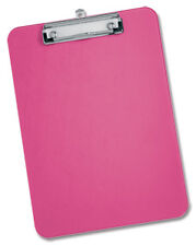 CLIPBOARD Plastic Durable with Rounded Corners A4  PINK