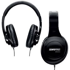 """Shure SRH240A Headphones 40mm driver with 1/4"""" adapter and 6.5' cable"""