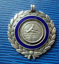 SILVER Atletica / ostacoli / CROSS COUNTRY RUNNING FOB MEDAGLIA 1937-NON INCISA