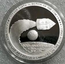 1 oz .999 silver proof Apollo 11 Earth Bound  Neil Armstrong Buzz Aldrin Collins
