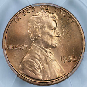 1982 Zinc Large Date PCGS MS67RD Lincoln Cent 40772418