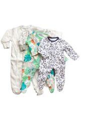 Baby Newborn Unisex Babygrow Multi Print Cactus Cotton Romper Sleepsuit 0-9 Mths