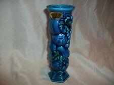 Vintage Inarco Mood Indigo Blue Bud Vase Retro Made in Japan E3096 Fruit