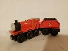 Thomas wooden Learning Curve James 2003 Engine and Tender