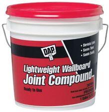 Dap 10114 1 Gallon Lightweight Wallboard Joint Compound, New, Free Shipping