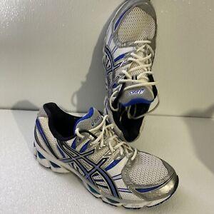 Asics Gel Nimbus 12 Running Shoes - Men's Size 12.5 White Blue