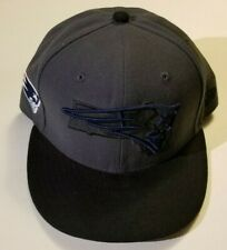 NEW ERA 5950 NFL PATRIOTS FITTED HAT SIZE 7 3/8 GREY