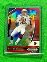MATT RYAN PRIZM RED CARD ATLANTA FALCONS REFRACTOR 2020 PANINI PRIZM DRAFT PICKS