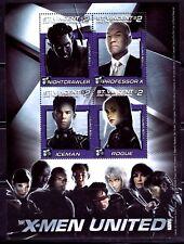 SELLOS  CINE ST. VINCENT OF THE GRENADINES 2003 X MEN UNITED/NIGHTCRAWLER