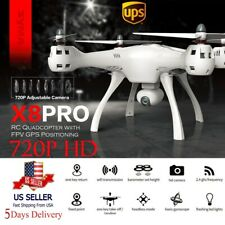 SYMA X8 PRO GPS One Key Return WiFi HD 720P Camera FPV RC Drone Quadcopter USA