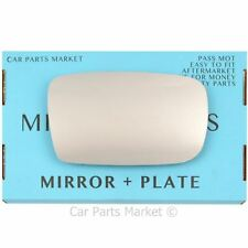 For TOYOTA YARIS 1999-2005 RIGHT SIDE DOOR FLAT WING MIRROR GLASS DRIVER +BP