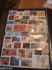 Lot Hrvatska Croatia USED stamp on off paper - mix briefmarken 2000 - 2017 #105