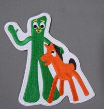 Gumby & Pokey New Embroidered Iron On Patch 4""