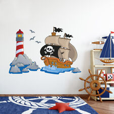 Piraten deko kinderzimmer  Deko-Wandtattoos & Wandbilder im Kinder-Stil mit Piraten-Thema ...