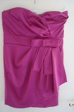 Ladies Pink Strapless Dress from ASOS -  Size 12
