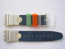 SWATCH x AQUACHRONO HAPPY LANDING - SBK109 - 1995 - NUOVO strap armband ORIGINAL