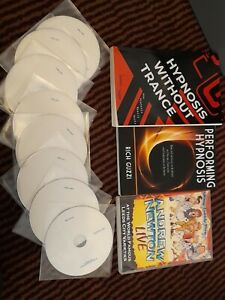 JUMBO HYPNOTISM BUNDLE Stage Hypnotist Comedy Hypnosis Show DVDS & Books