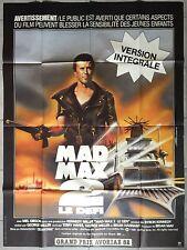 Affiche MAD MAX 2 Le défi MEL GIBSON George Miller 120x160cm
