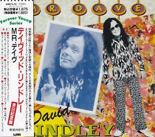 DAVID LINDLEY - CD - MR.DAVE  ( Japan )