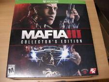 Brand New  MAFIA III COLLECTOR'S EDITION XBOX ONE