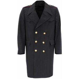 Marine Mantel Marinemantel Wintermantel Trenchcoat Tuchmantel Italien Gr 46 - 58