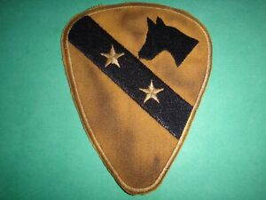 US Army 1st Cavalleria Divisione Commander & Staff Toppa