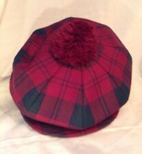 James Pringle Weavers Scottish 100% Pure Wool Tartan Tam O' Shanter Hat