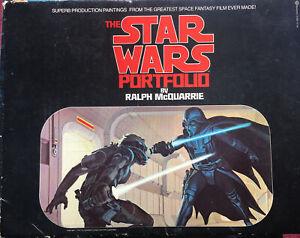 THE STAR WARS PORTFOLIO BY RALPH MCQUARRIE - COMPLETE 21 PRINTS 1977