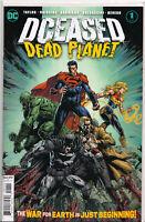 DCEASED: DEAD PLANET #1 (1ST PRINT) COMIC BOOK ~ DC Comics