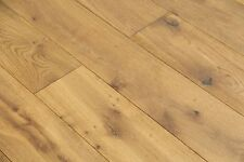 Engineered Oak Smoked, Brushed & Natural Oiled Wood Floor 1900*190*20/6mm EO2003