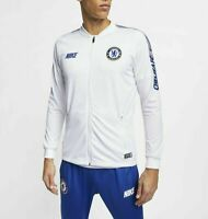 NIKE CHELSEA FC Dri-FIT Squad Football Anthem Track Jacket White Football