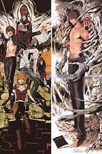 HOT Japanese BL Anime Otaku Dakimakura DEATH NOTE Hugging Body Pillow Case Cover