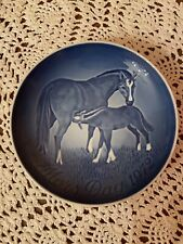 Mors Day plate 1972/Mother's Day Plate/Royal Copenhagen/Denmark /Horse With Colt