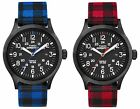 Men's Casual Watch | Timex Buffalo Checker Scout | Nylon Flannel Strap