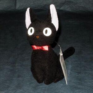 OFFICIAL Kiki's Delivery Service Jiji plush toy (M) - NEW