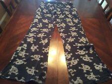 Nightmare Before Christmas Skull Pajama Pants Size S Womens