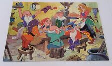 Vintage Puzzle Snow White And The Seven Dwarfs 1978 Milton Bradley