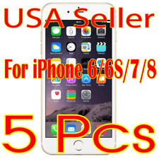 5X Clear Screen Protector LCD Guard Saver Film for iPhone 6/6s/7/8 (USA)