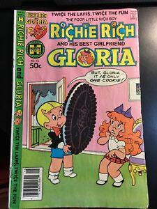 Richie Rich and his best girlfriend Gloria #16 October 1980 Harvey World