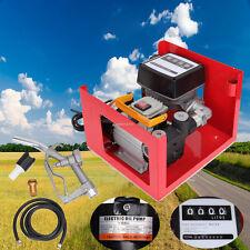60L Elektrische Öl-Pumpe/Dieselzapfsäule/Dieselmotor Pumpe Magnetmotor 220V