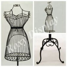 Female Metal Wire Form with Antique Metal Base #TY-XY140075B