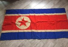 Rare !!!! Socialist Korea Flag USSR Navy Fleet Original Wool Soviet