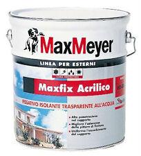 MAX MEYER MAX FIX ACRILICO fissativo resina acrilica all'acqua 4 lt