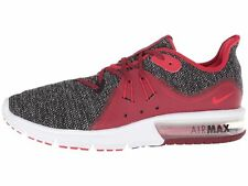 Nike Air Max Sequent 3 Men's Running Shoe, Black/University Red-white-11.5