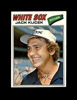 1977 Topps Baseball #623 Jack Kucek (White Sox) NM-MT