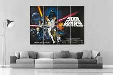 STAR WARS VINTAGE RETRO COLLECTION Art Poster Grand format A0